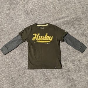 Boy Hurley long sleeve - Size 3T - good condition!